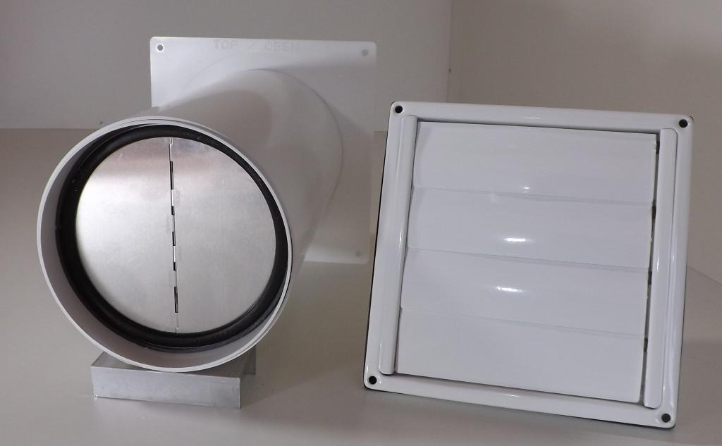 Mauerkasten teleskoprohr edelstahl gitter wetterschutzgitter
