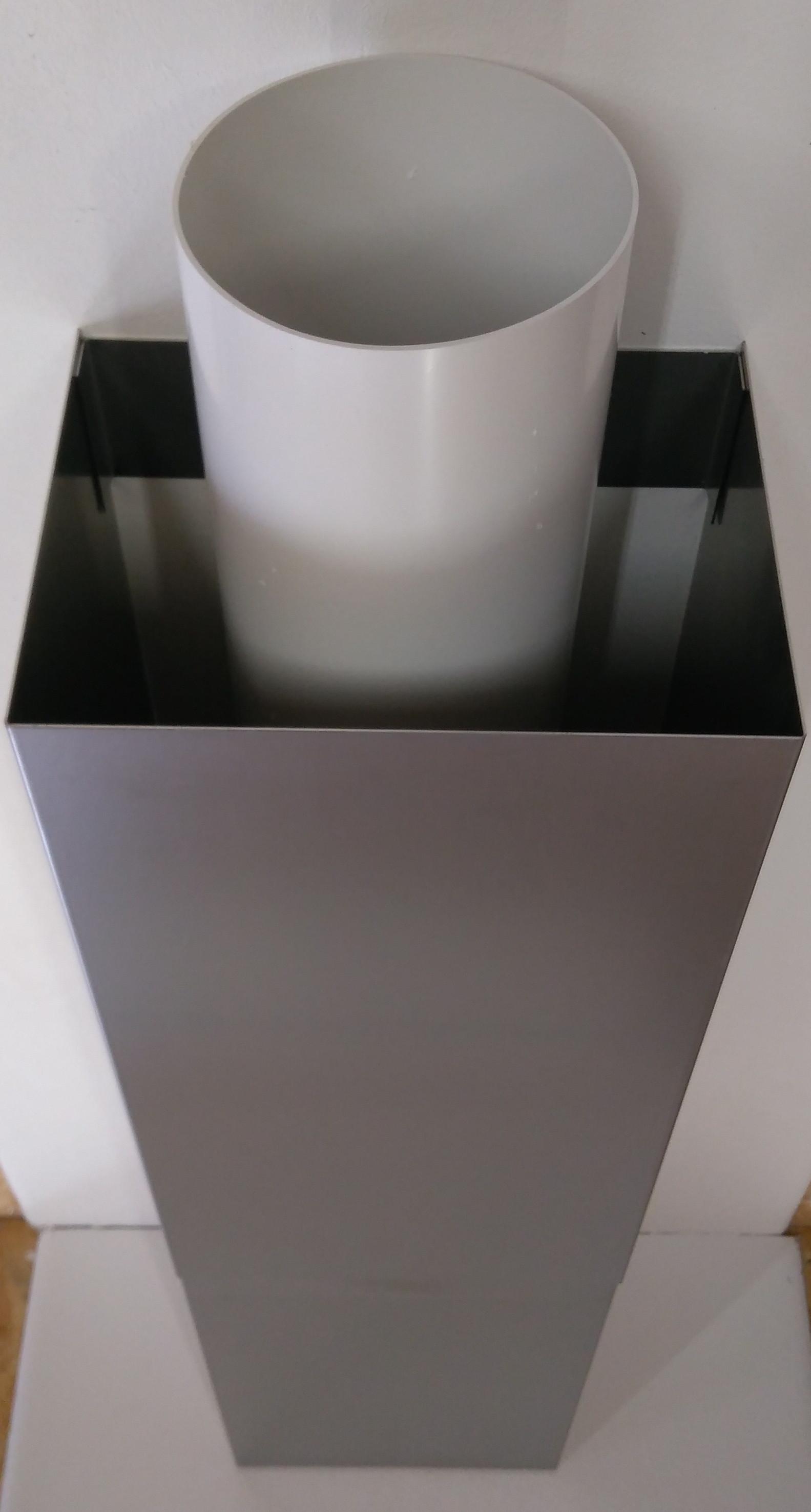 Gut gemocht Edelstahl Verkleidung U Form für Flachkanal Insel BM97