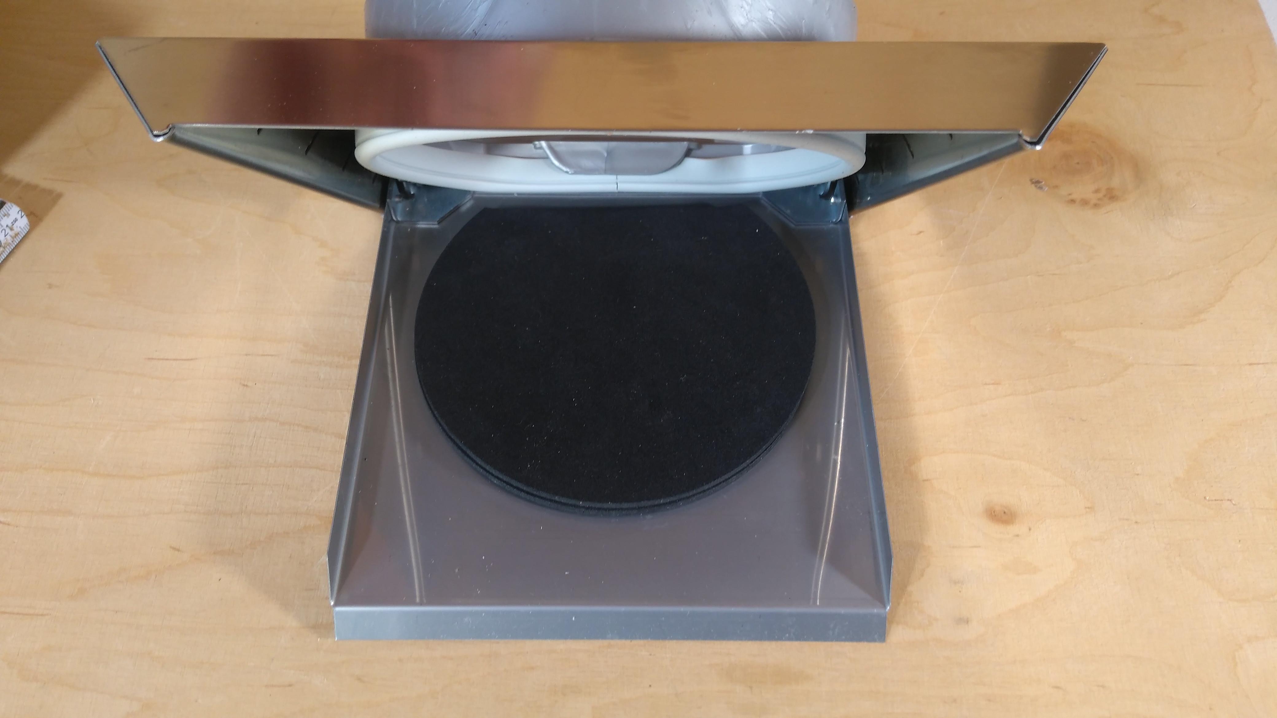 Mauerkasten mit blower door test zertifikat für niedrig energie