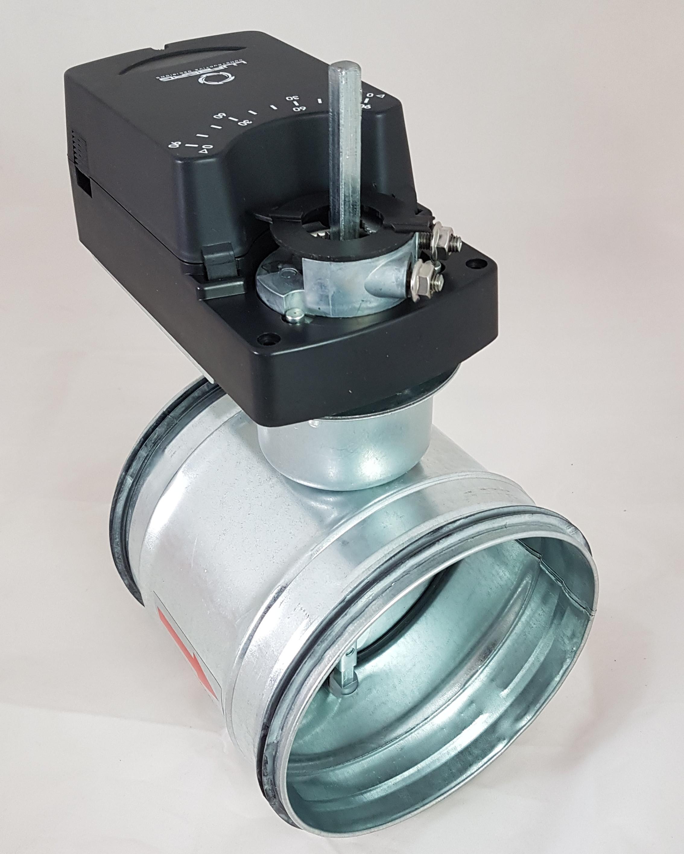 DTBU-DA0F220 Absperrklappe Stahl verzinkt