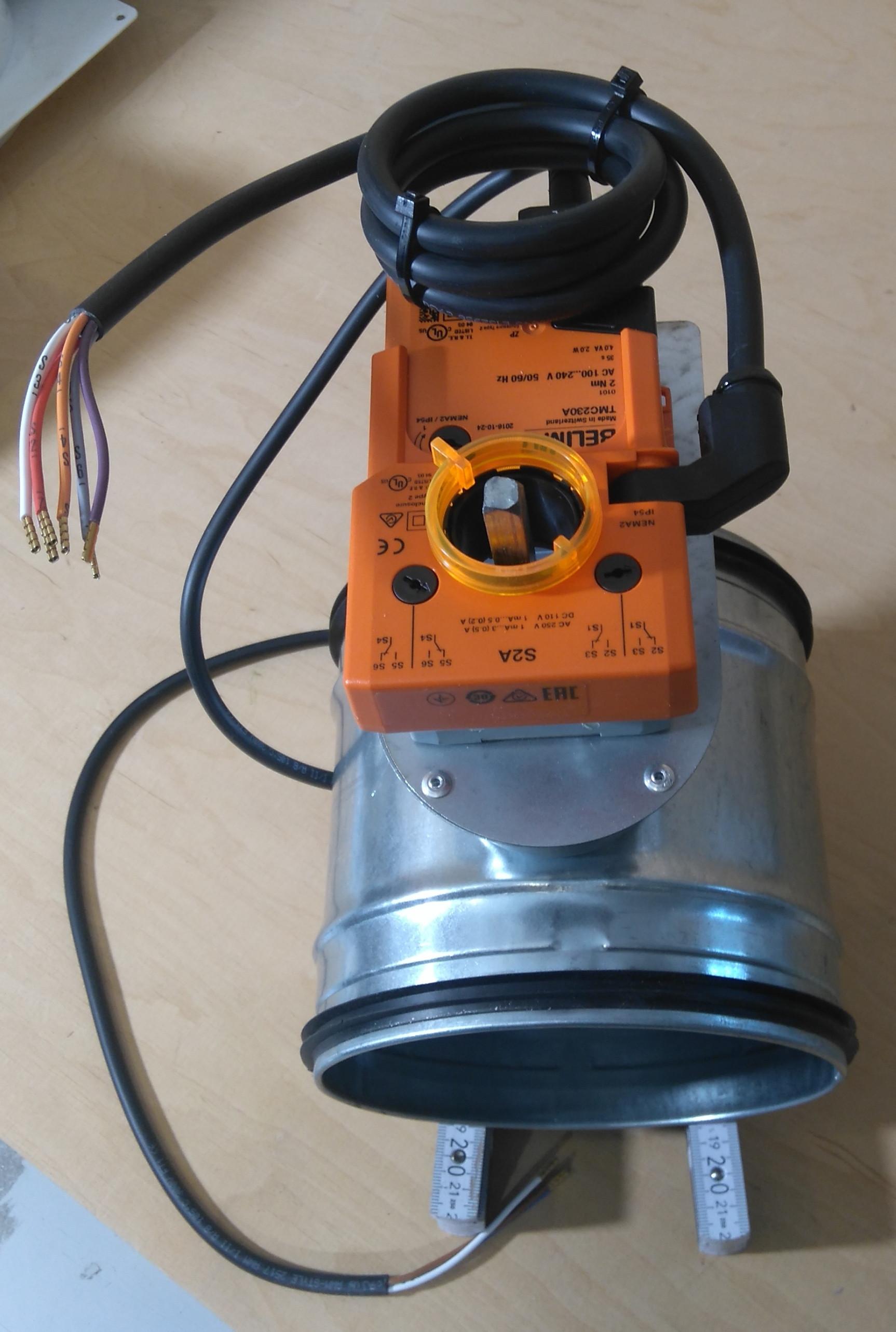 Absperrklappe dichtschließend Belimo TMC230-SA2 Klappenstellantrieb 230V