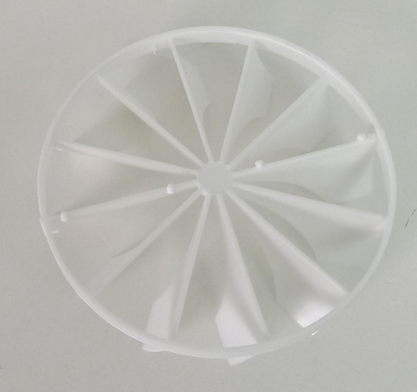 Rückschlagklappe für Bad Ventilator