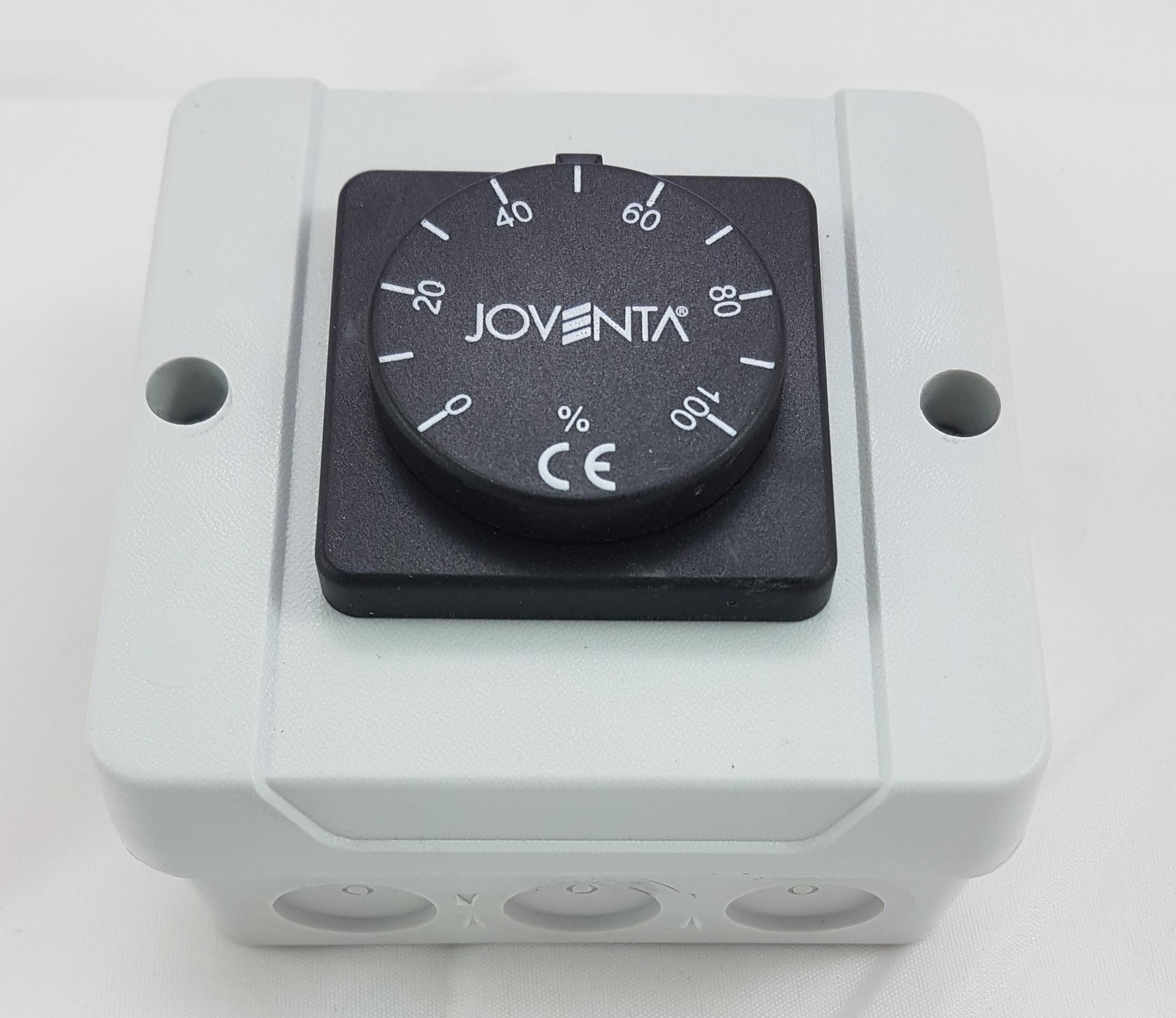 Joventa Potentiometer 24V 0-10V Regelung von Absperrklappen Volumenstrom