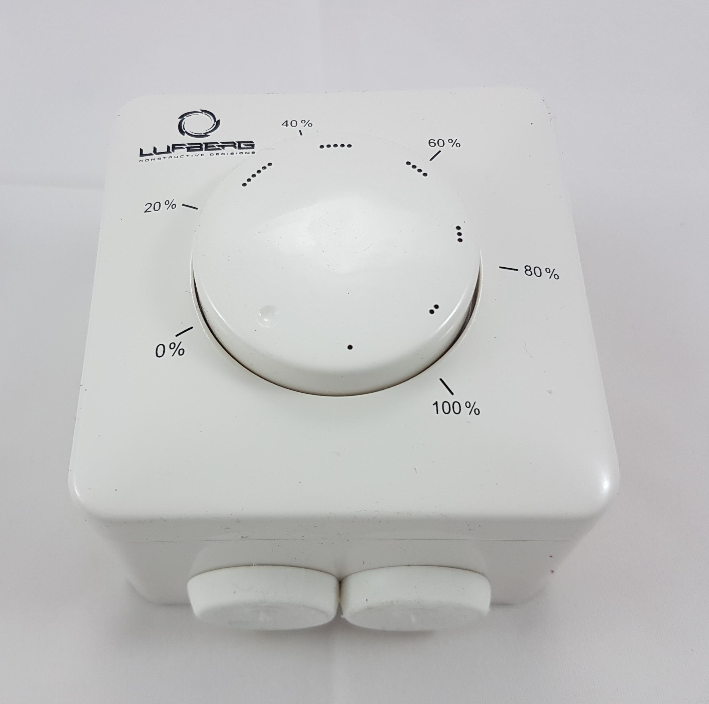 Potentiometer 24V 0-10V Regelung von Absperrklappen Volumenstrom