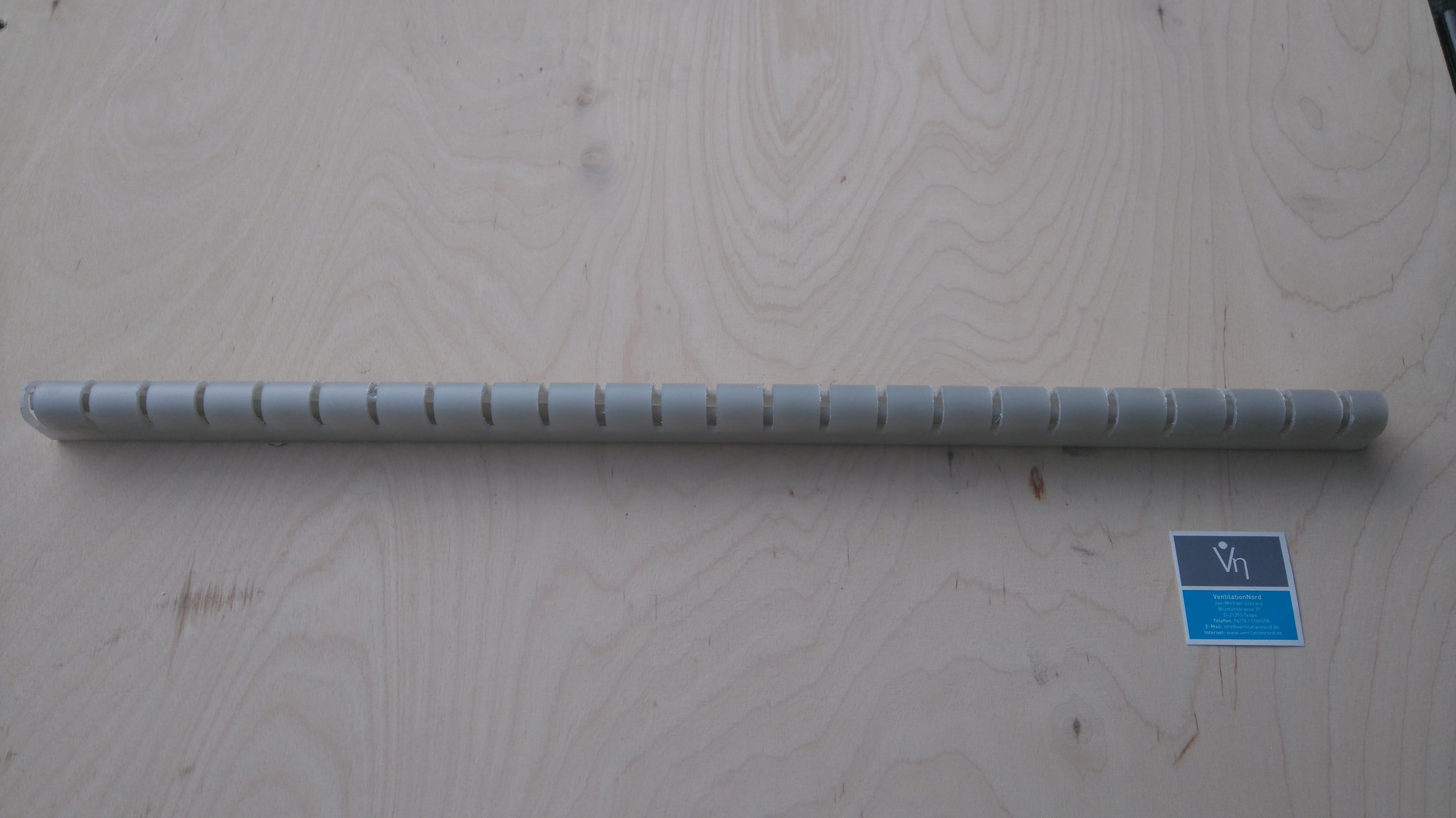 Schlitzleiste PP für Tropfenabscheider Gleichrichter Profile