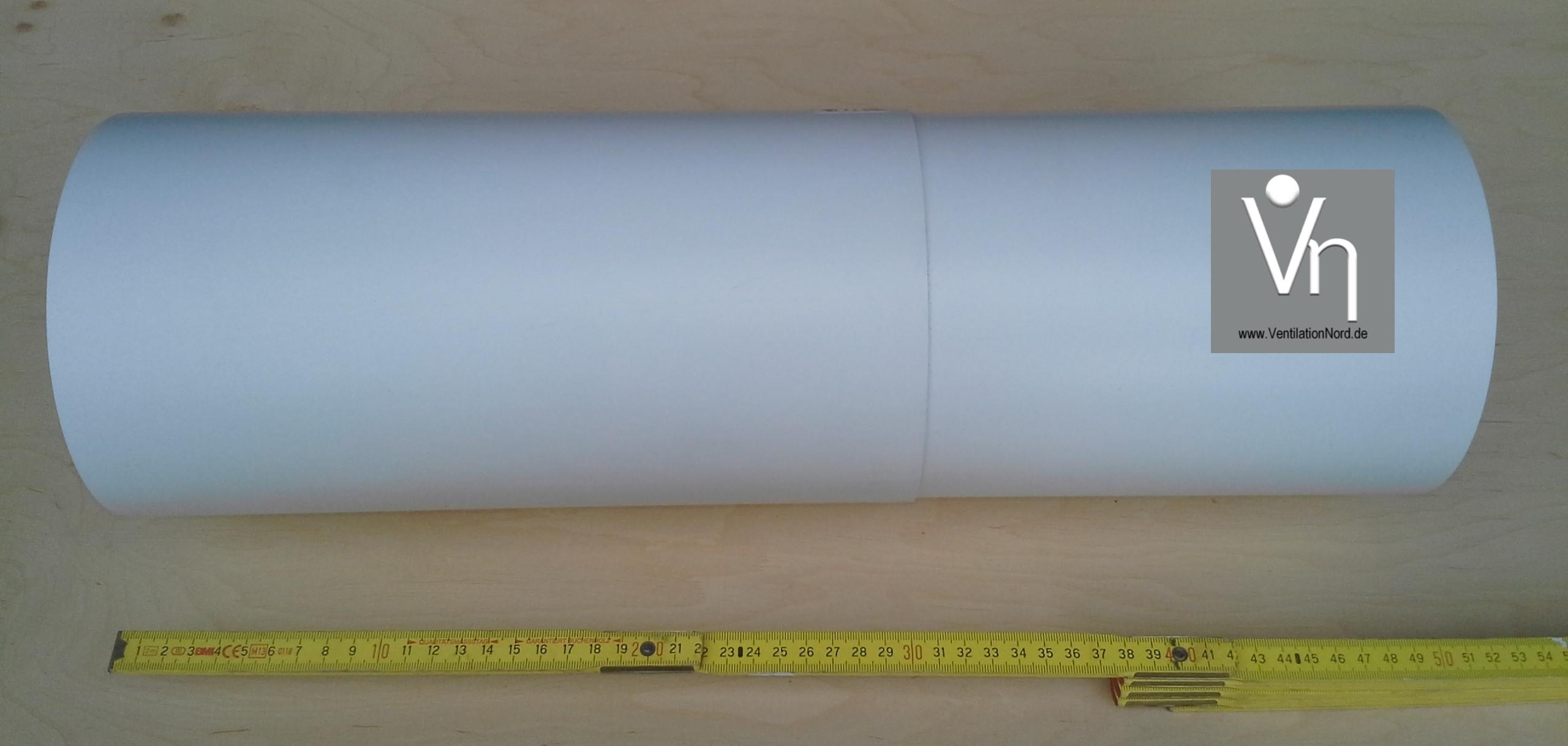 Teleskoprohr-verlängerung Ø100 125 150 für Wandstärken 500-780mm TKV