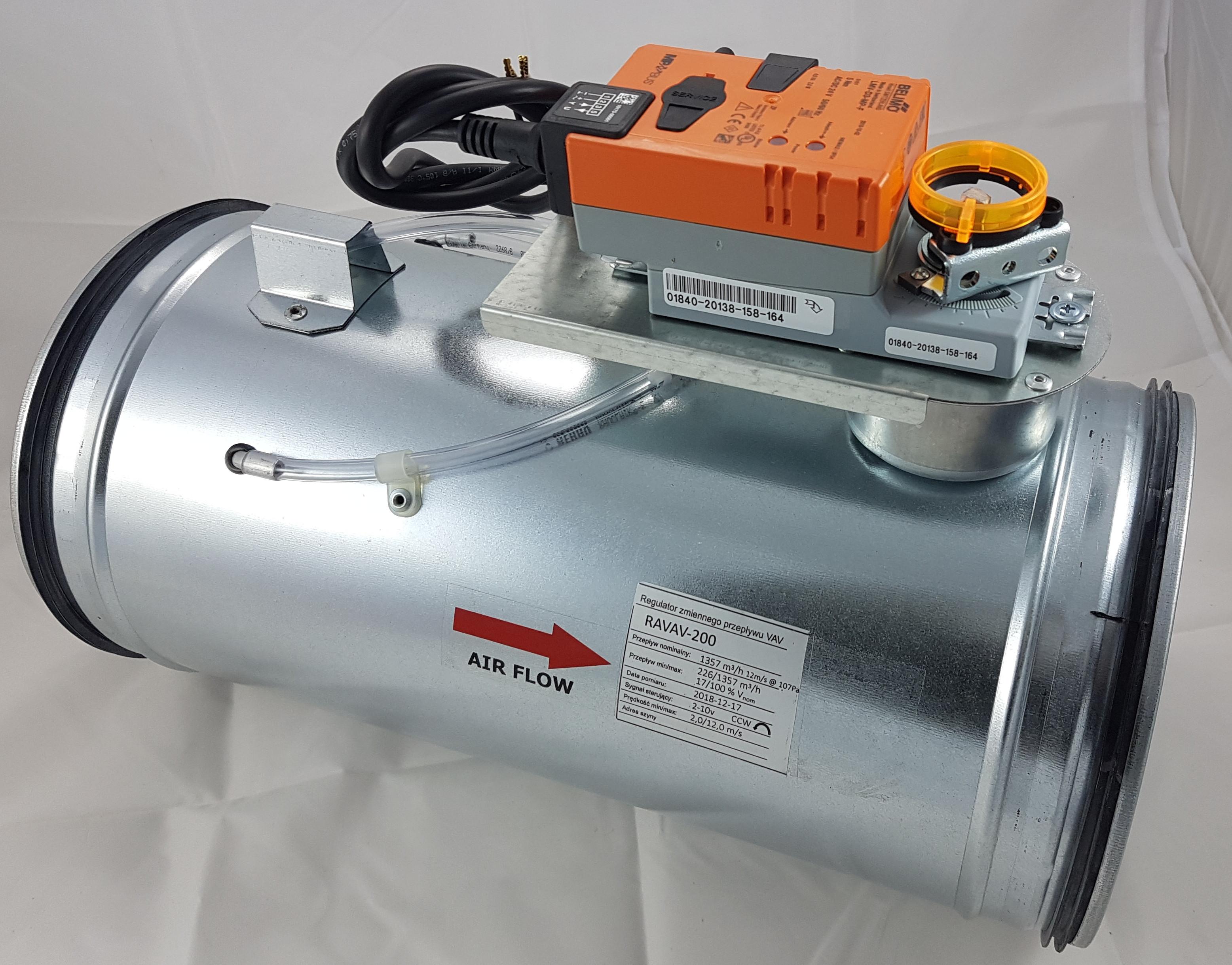VAV Volumenstromregler Belimo 24 V LMV-D3-MP-F VentilationNord