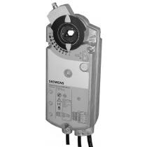Luftklappen-Drehantrieb, AC 24 V, 3-Punkt, 25 Nm, 150 s, 2 Hilfsschalter