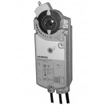 Luftklappen-Drehantrieb, AC/DC 24 V, DC 0…35 V einstellbar, 18 Nm, Federrücklauf 90/15 s, Potentiometer, 2 Hilfsschalter