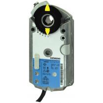 Luftklappen-Drehantrieb, AC/DC 24 V, DC 0(2)...10 V/ 0(4)...20 mA, 6 Nm, 2 s, 2 Hilfsschalter