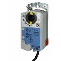 Luftklappen-Drehantrieb, AC/DC 24 V, DC 0/2...10 V, 5 Nm, 150 s, 2 Hilfsschalter