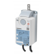 Luftklappen-Linearantrieb, AC 230 V, 3-Punkt, 125 N, 150 s, 2 Hilfsschalter