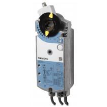 Luftklappen-Drehantrieb, AC 24 V, 3-Punkt, 25 Nm, 150 s, Potentiometer, 2 Hilfsschalter