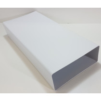 Flachkanal220x90 Dunstabzug Mauerkasten Kunststoff