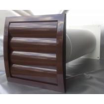 Mauerkasten Dunstabzug Teleskop Rohr LamellenVerschlussklappe MKWSKQLB