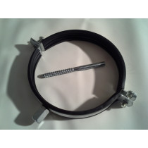 Rohrschelle Stahl verzinkt mit Gummieinlage RSG-STSM8 von NW 80 bis NW200