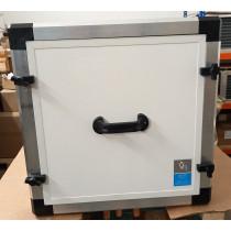 Sole EWT 350 660 mit herausgezogenem Wärmetauscher und Kondensatwanne