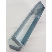 Flachkanal Stahl verzinkt Edelstahl Bogen senkrecht 45°