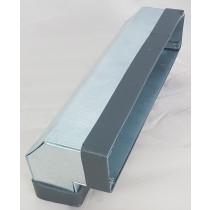 Flachkanal Stahl verzinkt Edelstahl Bogen senkrecht 90°