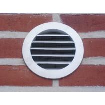 Wetterschutz-gitter aus Aluminium Druckguss in den Nennweiten Ø80 bis Ø500