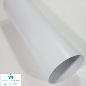 Kunststoffrohr Abluft Zuluft z.b. für Dunstabzug Ø 100 125 150 1,0m lang